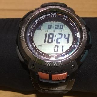 カシオプロトレック デジタル時計リミットあり