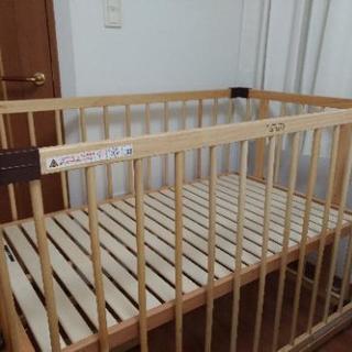ファルスカ ベビーベッド ベッドサイドベッド 120×70