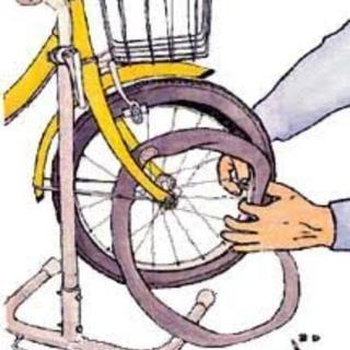 自転車パンク修理いたします‼️どんな時間でも連絡下さい‼️