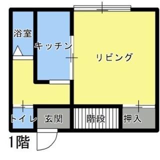 《メゾネットタイプ》庭付き2LDK★賃貸アパート
