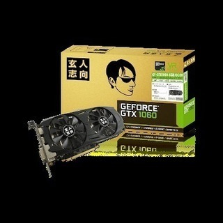 玄人志向 NVIDIA GEFORCE GTX 1060搭…