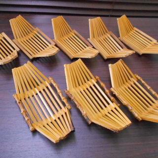 おしぼり置き/竹製