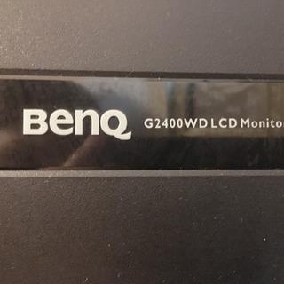 【24インチワイド 液晶モニター】 BENQ G2400WD ET-0009-B - パソコン