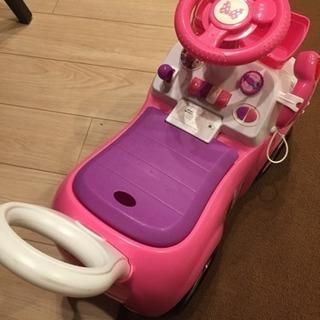 値下げ ミニーちゃん おもちゃ 車 押し車