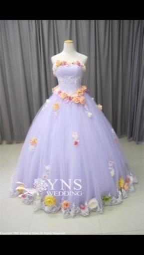 ラプンツェル風ドレスの画像