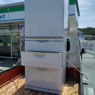 再投稿440リットル冷蔵庫 両開きドア