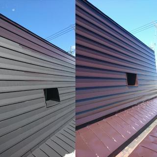 屋根塗装工事 - 札幌市