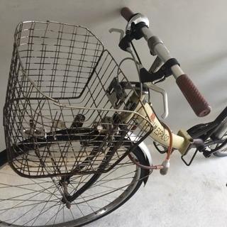 エアレスチューブ使用26インチ自転車※条件つき