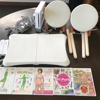 wii本体 .太鼓の達人セット .wii フィット.リモコン