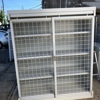 保管庫 重量棚 格子ネット 高さ変更可能 幅1500 中古 希少品 特注