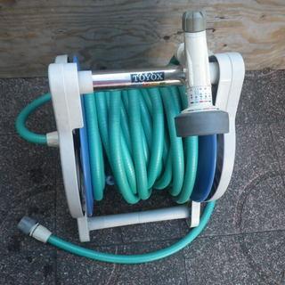 トヨックス 散水ホースリール 30m 水巻ホース ガーデニング