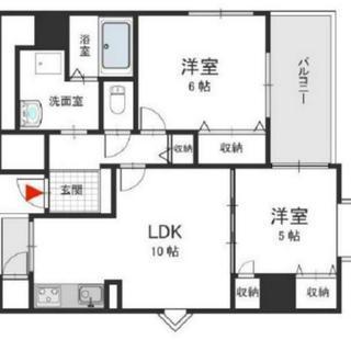 浪速区☆築浅☆2LDK☆お買い物とても便利なマンションです…