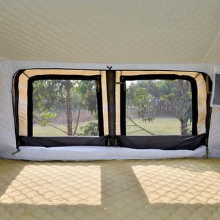 ルーフテント 新品 ダブルサイズ インナーテント付き ダンパー開閉 発送可 - 売ります・あげます