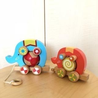 エド・インター くるくるサーカス 木のおもちゃ