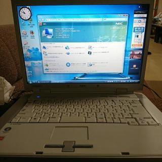 取引中。NEC Lavie  windows Vista DVD...