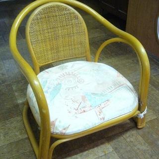 籐椅子【たったの 100円!】