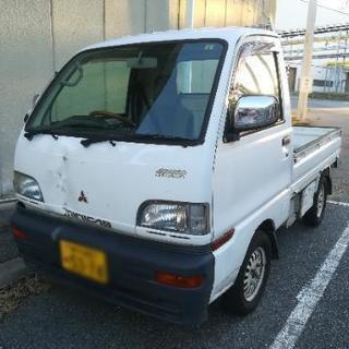 値引き!軽トラ 平成10年式ミニキャブ4WD 5MT