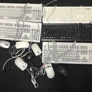 キーボードとマウス (物々交換)