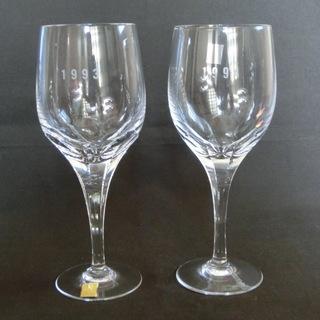 【未使用】 カガミクリスタル ワイングラス
