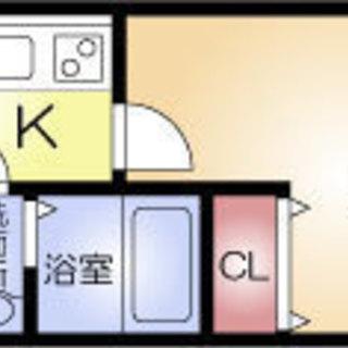 堺筋本町駅2分 家賃30000円 共益費5000円 27.3m2 1K