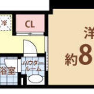 天満橋駅 歩7分 家賃28000円 共益費7000円 28㎡ 1K