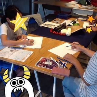 9月2日『本気のお絵かき教室』~武蔵新城