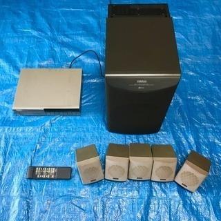 ヤマハ ホームシネマ コンパクトシステム 5.1chスピーカー