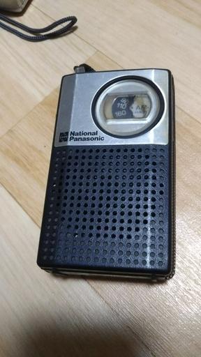 家電 トランジスタ ラジオ AM National ナショナル Panasonic ...