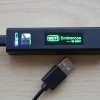ENDOSCOPE WiFi内視鏡カメラ+USB増設ポート売ります