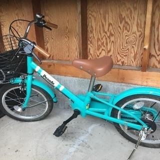 子供の自転車あげます。