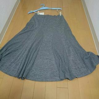 ★未使用★スカート ミディアムスカート グレー lilico 変...