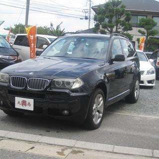 BMW 人気の黒 X3 6万キロ H20年式