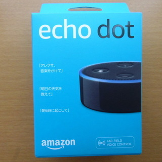 値下げ⤵Amazon Echo Dot*新品・未開封品1⃣