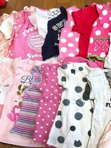 ed34d0c2f0a3d 赤ちゃん ベビー トップス等 20着セット 80サイズ 女の子ブランドMIX 夏服 - 子供用品