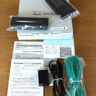 NEC  Aterm MR05LN  + クレードル 新品同様 ...