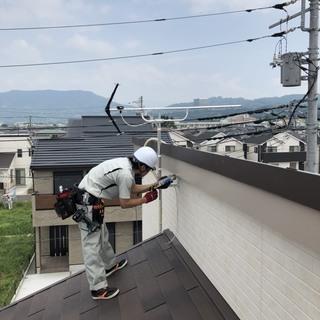 テレビアンテナ工事、既存アンテナ撤去、不具合の調整