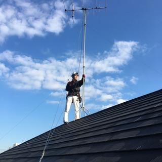 テレビアンテナ工事、既存アンテナ撤去、不具合の調整 - 墨田区