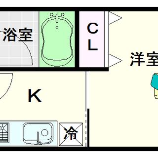 【グランシス難波南】4号タイプ!1Kタイプ!ミストサウナ付で女性...