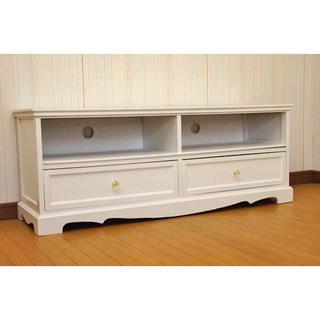 【新品未使用】桐製 アンティーク 調 テレビ台 ◆アウトレット 家具