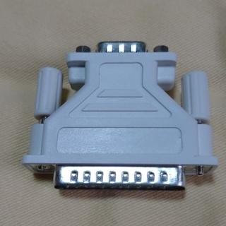 Dsubコネクタ RS-232C変換アダプタ 25ピンオス×9ピ...