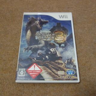 Wii MONSTER HUNTER 3