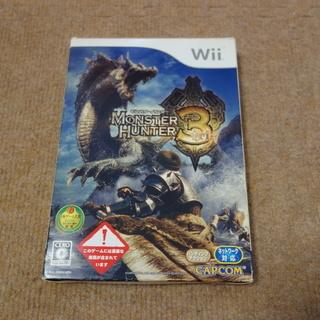 Wii MONSTER HUNTER 3(箱付)
