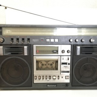 National ラジカセ RX-5400
