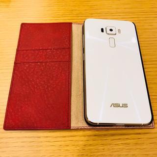 【極美品】ASUS Zenfone3 ホワイト