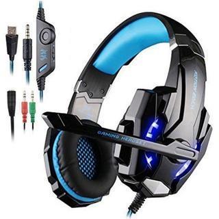 ゲームヘッドフォン(ブラック+ブルー)