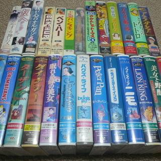 映画やアニメのビデオテープ<VHS>