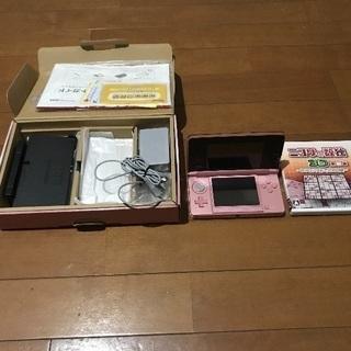 任天堂3DS ミスティピンク ソフトお付けします!