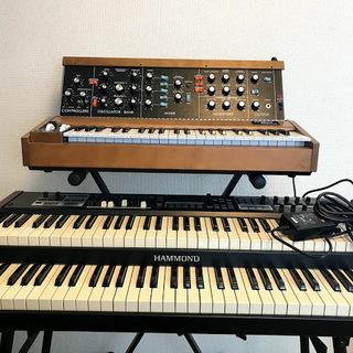 ピアノ、キーボード各種、シンセサイザーの個人レッスン承ります