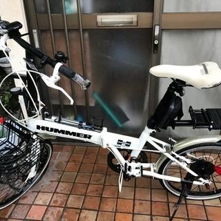 ハマー自転車 カスタム