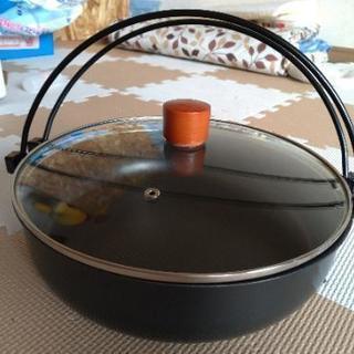 すき焼き鍋26cm  綺麗です